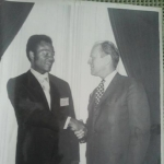 Scott Randolph and President Gerald Ford