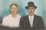 Isaac and Emily McElroy parents of Annie M. McElroy Randolph