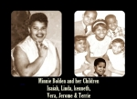 Isaiah Bolden wife Minnie Brown Bolden, and their children when they was little